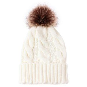 NWT Pom Knit Beanie- Choose Your Color